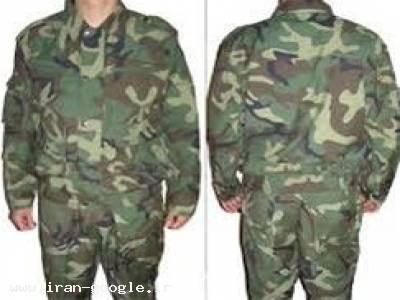 تولید و فروش  منسوجات و تجهیزات نظامی ،  لباس نظامی  ، کیسه سربازی