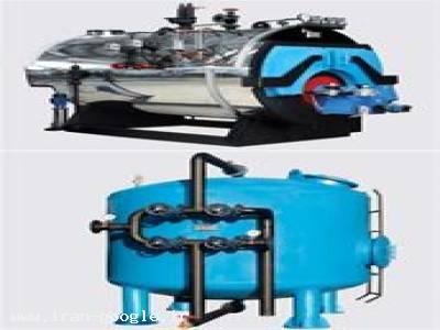 دیگ های بخار ، دیگ های آب گرم ، منابع کویل دار - واحدی پور