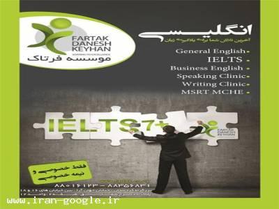 آموزش و یادگیری فشرده-تدریس خصوصی انگلیسی و آیلتس در محیط آموزشی آرام و مجهز