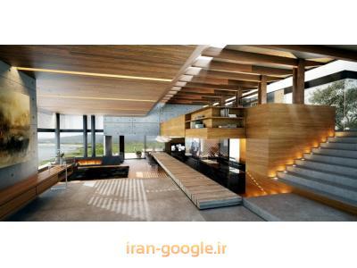 طراحی و ساخت دکوراسیون داخلی و نمای ترموود ، طراحی و ساخت کابینت و تخت کم جا