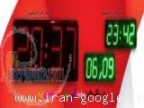 ساعت دیجیتال بزرگ دما تاریخ ال ای دی led دیواری