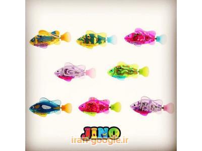 فروش ماهی رباتیک چراغدار جینو به عنوان چراغ خواب!