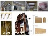 اجرای طرح چوب و کنده چوبی در نمای داخلی و خارجی