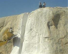 نیاز به پیمانکار استخراج معدن سنگ مرمریت