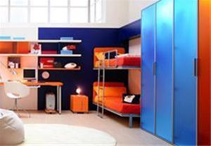 تخت کمجا دو طبقه