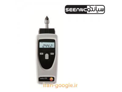 تاکومتر یا دورسنج مکانیکی و نوری مدل TESTO 470