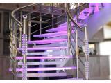 تولید راه پله - نرده طرح چوب - پلکسی - استیل