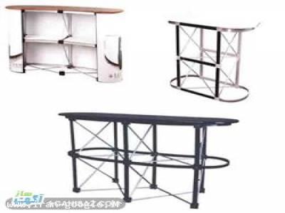 تولید و فروش میز کانتر و پاپ آپ نمایشگاهی