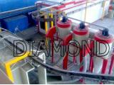 قیمت کوره رنگ الکترو استاتیک با لوازم دستگاه پاشش رنگ پودری سایکلون بازیافت رنگ کوره ای