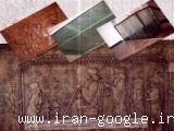 توليد کتيبه هاي سفالي و شيشه اي و ساخت محصولات تيفاني و فيوز و اسلمپ