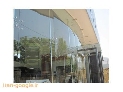 نماهای شیشه ای اسپایدر