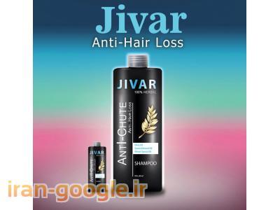 درمان کامل ریزش مو و رویش مجدد مو ژیوار کاملا گیاهی
