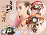 ساعت بند چرمی الیزابت اصل با گارانتی( فروشگاه جهان خرید)