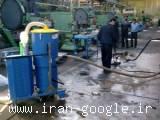 جارو برقی( مکنده ، وکیوم) صنعتی / ساخت ایتالیا مدل DG 100