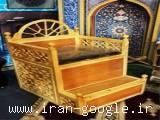 منبر یک پله و منبر چوبی چند پله - محمد طهرانی