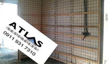 ویلای پیش ساخته تری دی پنل در گیلان,دیوار  3d pane