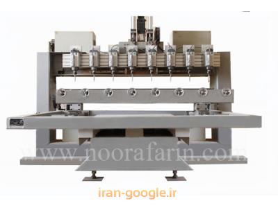 دستگاه سی ان سی (CNC) 8 کله مخصوص منبت کاری