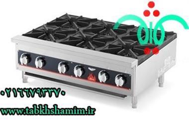 فروش اجاق گاز رومیزی 6شعله  آشپزخانه