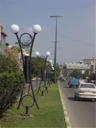 فروش چراغهای روشنایی پارکی وچراغ خیابانی
