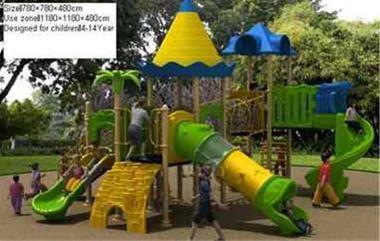 فروش ستهای پلی اتیلنی زمین بازی کودکان