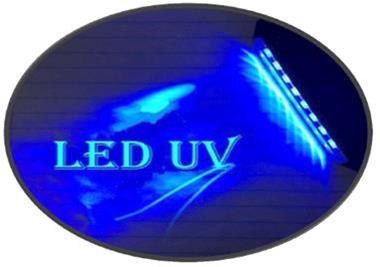 لامپ UV  LED روی دستگاههای چاپ