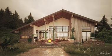 انجام پروژه های سه بعدی طراحی نمای ساختمان