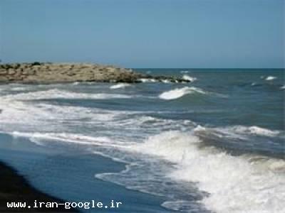 زمین ساحلی در زیبا کنار زیر قیمت