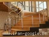 سازه استیل ، نمای اسپایدر ، پله اسپیرال ، هود باربیکیو و هود صنعتی