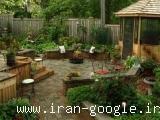 طراحی و اجرای فضای سبز منازل ، ویلاها ، مجتمع های مسکونی و صنعتی
