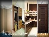 درب و چهارچوب| کمد ریلی|کمددیواری|باکس کمد| کابینت آشپزخانه|پروفیل ام دی اف سفارشی
