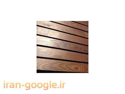 چوب طبيعي ترمووود براي نما ساختمان و كف