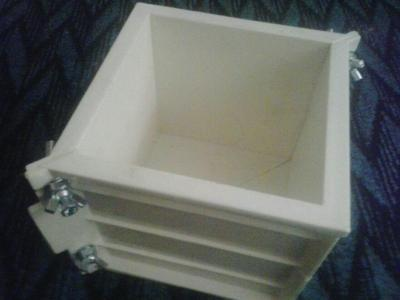 قالب نمونه بتن پلاستیکی با ضمانت