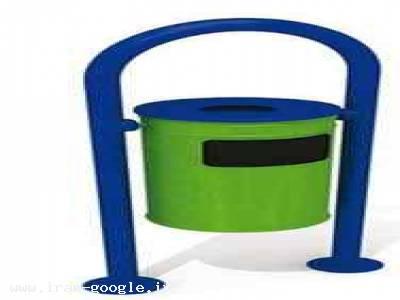 فروش سطل زباله پارکی با کیفیت درجه یک