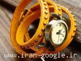 ساعت مچی مارگاریتا با بند چرمی بلند( فروشگاه جهان خرید)