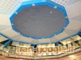 انواع سقف های کاذب آلومینیومی نمای خشک فایبر سمنت خدمات پانچ CNC و خدمات رنگ پودری الکترواستاتیک