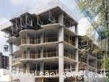 اجرای اسکلت بندی و راویز کاری نمای داخلی و خارجی ساختمان