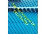 صفحات مورب ته نشینی لاملا، PP,PVC-پاک زیست فرآیند