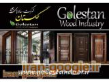 تولید و فروش درب ضدسرقت کلاسیک و برجسته ، درب چوبی