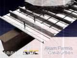 تولید کننده و پیمانکار تخصصی سقف های مرکب عرشه فولادی