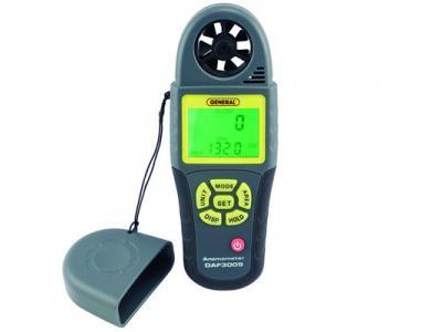 قیمت سرعت سنج و فلومتر باد مولتی فانکشن مدل DAF3009 محصول Generaltools