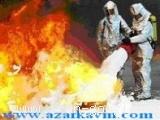 آذرکاوین، تولید کنندۀ فوم آتش نشانی