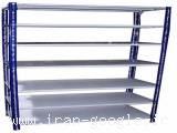 قفسه دژپاد، قفسه بندی فلزی ، قفسه انبار ، قفسه فلزی پیچ و مهره ای فروشگاه دژپاد
