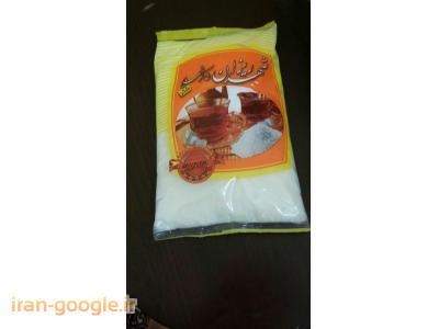 بسته بندی قند و شکر از 5 گرم تا 10 کیلو گرم
