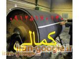 روکش لاستیکی غلطک های ( رول) صنعتی و چرخ های توپر با تضمین