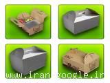 تولید و پخش  کفی شیرینگ ، بسته بندی غذا ،  کارتن حمل غذا ، فروش کارتن حمل غذا