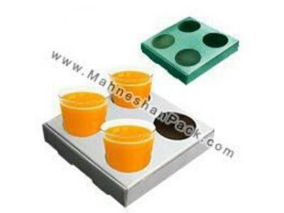 تولید و پخش جعبه جالیوانی  ، بسته بندی غذا ، کفی شرینگ ،  سینی حمل بستنی