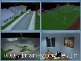 طراحی و محاسبه روشنایی خیابانها ، معابر ، ساختمانها و ... بوسیله نرم افزار قدرتمند Dialux