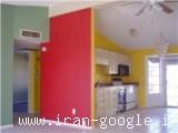 نقاشی ساختمان و مولتی کالر و پتینه و رومالین و ابزار ، رنگ روغنی و رنگ پلاستیک