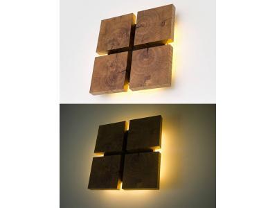 چراغ و لوستر چوبی دیواری سقفی اجرای دکور سفارشی
