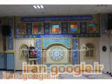 طراحی و ساخت تجهیزات نمازخانه ، پارتیشن سنتی ، محراب مسجد